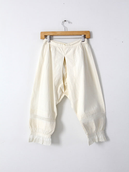antique open crotch bloomers