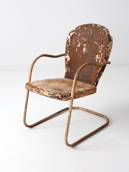 mid-century lawn chair