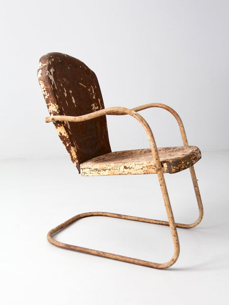vintage bouncer patio chair