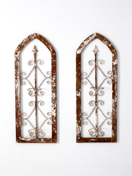 antique architectural garden panels