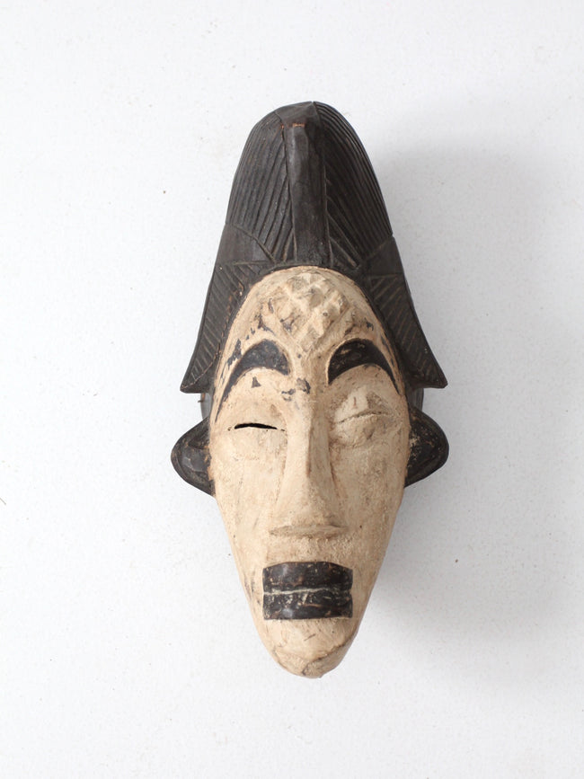 African Punu tribe mask