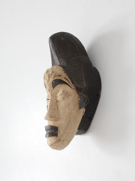 African art tribal mask punu people