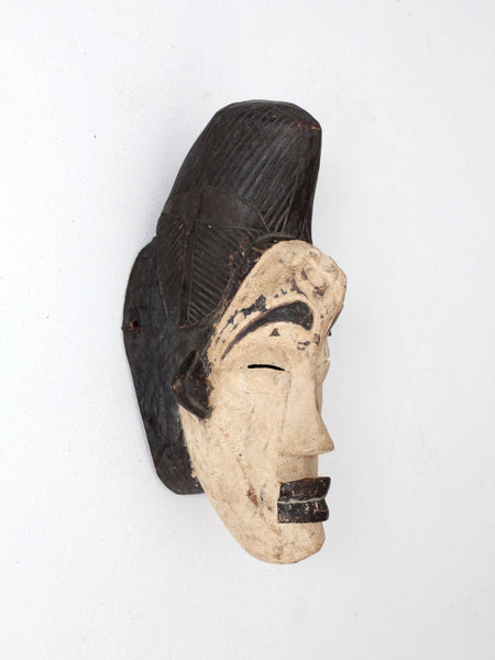 African punu tribal mask