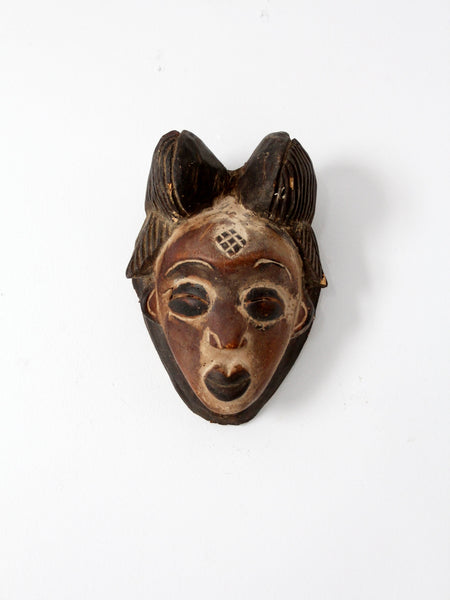 African Kwele tribal mask