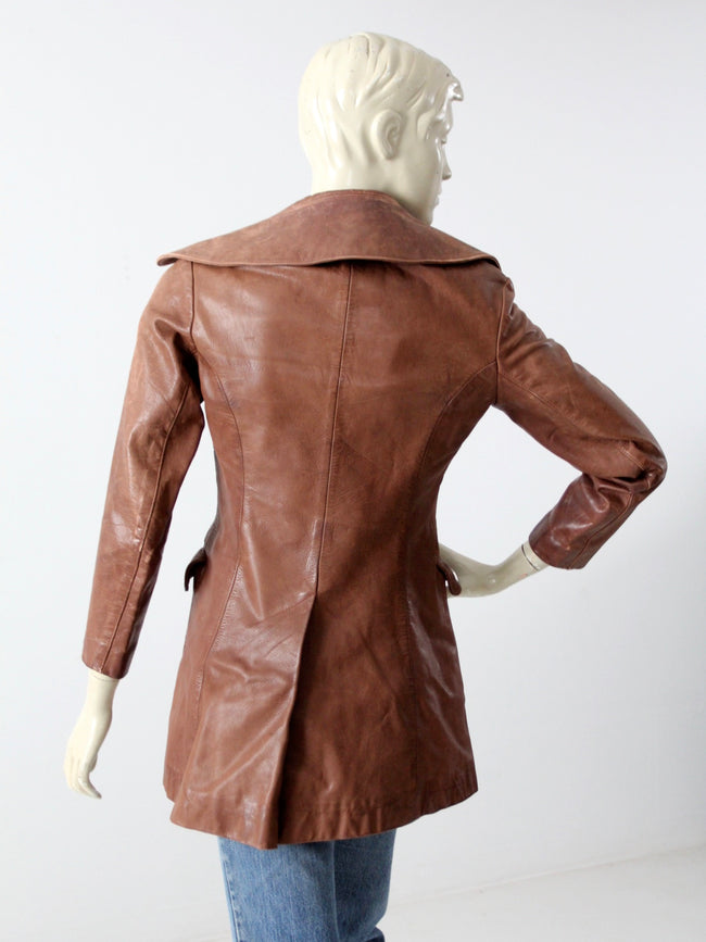 vintage 70s North Beach Leather Company jacket