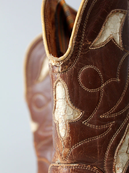 vintage pee wee cowboy boots, size 6.5