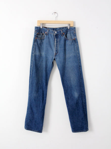 vintage shrink to fit levis 501s