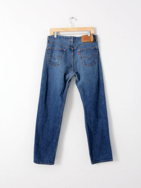 vintage Levis 501s shrink to fit