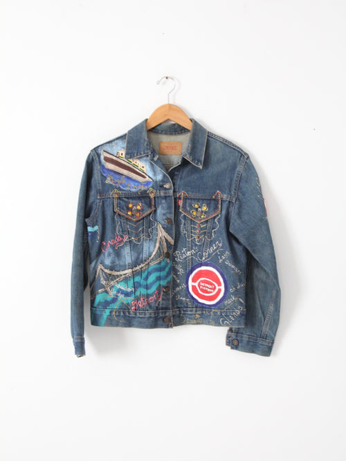 vintage Levis denim jacket custom Detroit