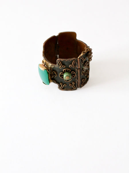 vintage 50s Casa Maya copper bangle