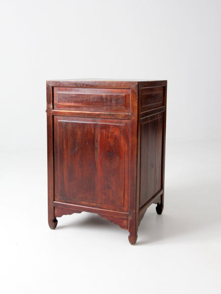 vintage Chinese nightstand
