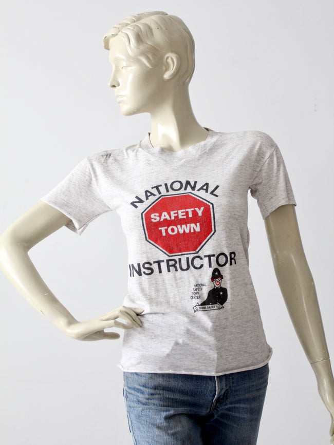 vintage Safety Instructor graphic tee
