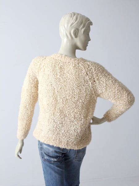 vintage 60s Sears mohair sweater