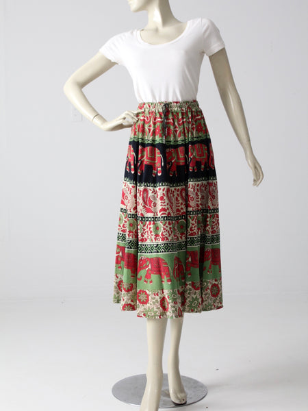 Jean Paul Gaultier skirt and blouse ensemble
