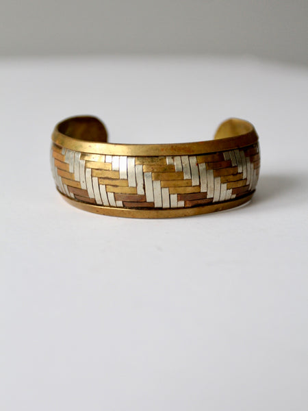 vintage Native American style beaded cuff