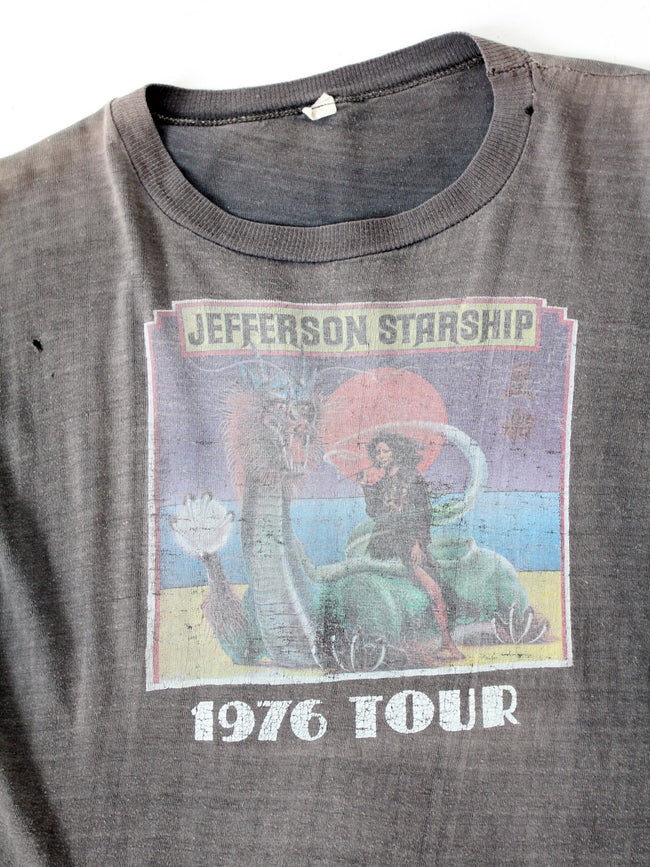 vintage Jefferson Starship 1976 Tour t-shirt