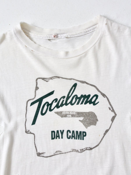 vintage Tocaloma camp t-shirt