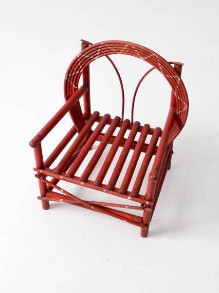 antique Adirondack children's chair