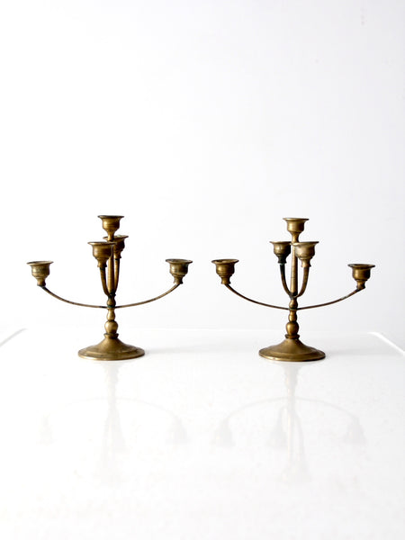 antique Chinese candelabras