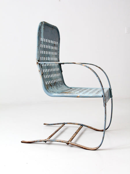 mid-century bouncer chair