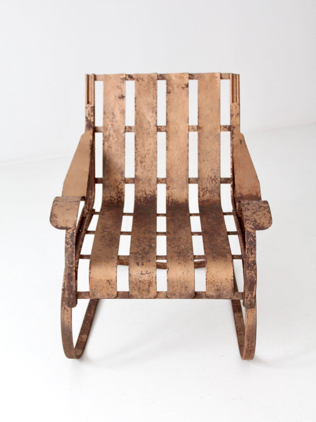 1950s patio bouncer chair