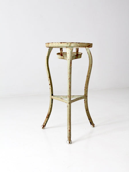 antique claw foot iron stand