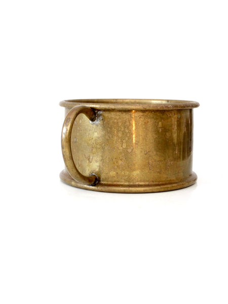 antique brass bowl