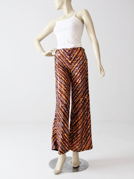 vintage 1950s jungle print circle skirt