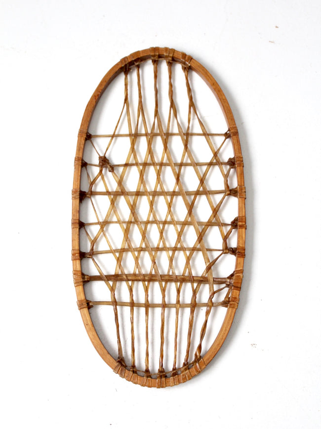 antique snowshoe