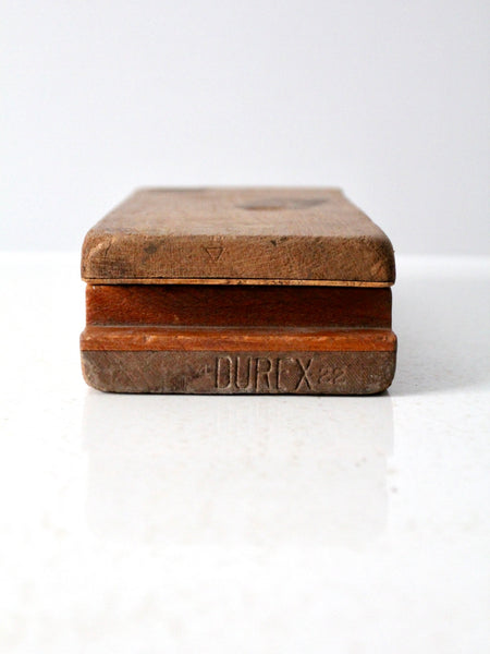 antique Durex cigar press