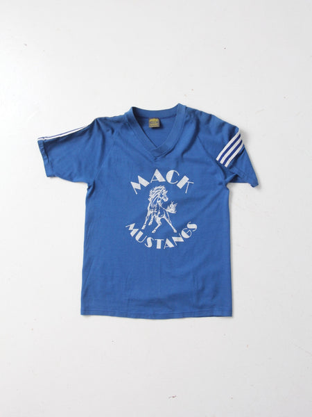 vintage 80s Mustangs graphic tee