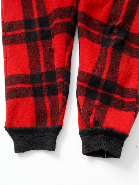 vintage wool hunting pants