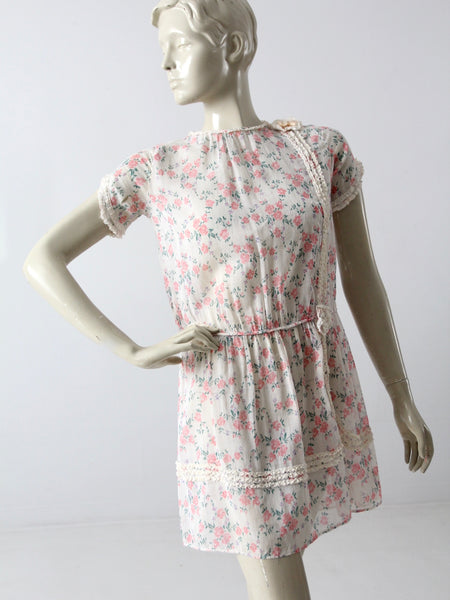 vintage beach tunic sun dress