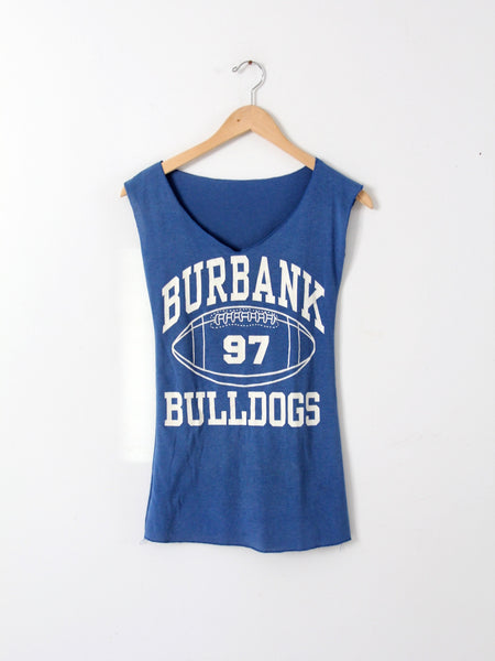 vintage 80s Raiders football tank top