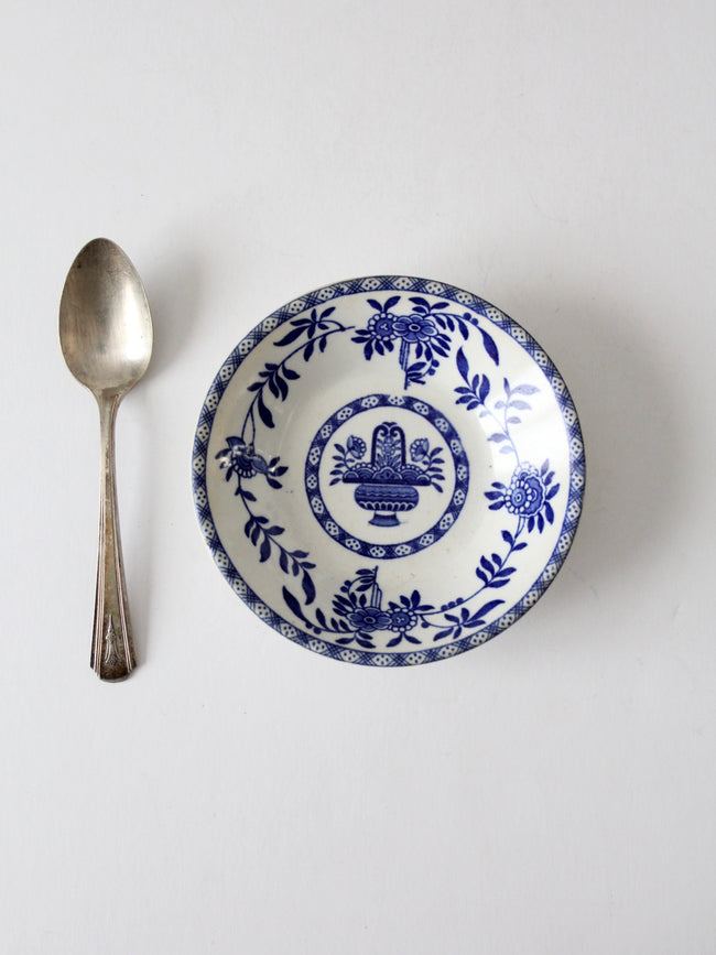 vintage English transferware bowl