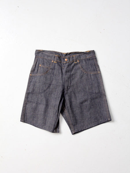 vintage Levi's big E denim shorts, W 28