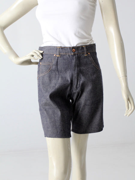 vintage 60s denim shorts
