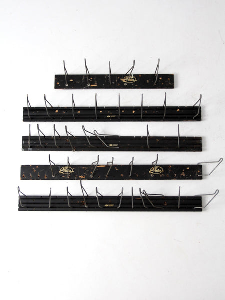 vintage Gates Rubber Co. display racks