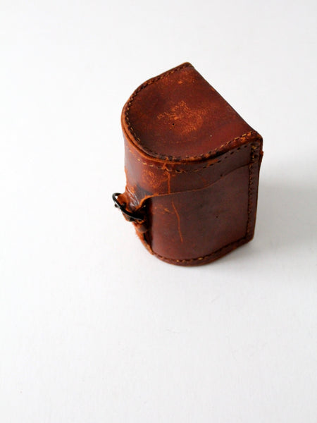 vintage leather case