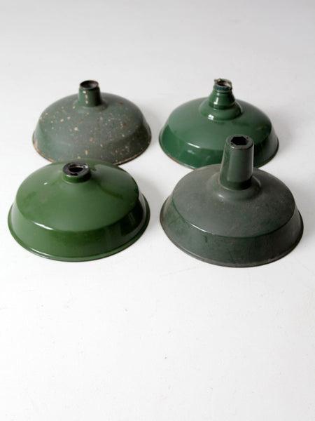 vintage industrial pendant light shades set/4