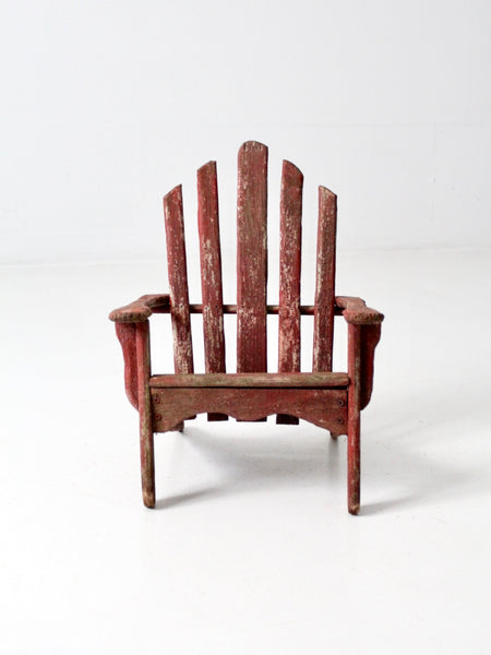 antique wooden children's chair
