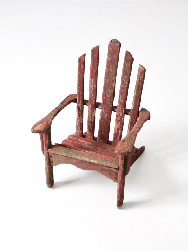 vintage Adirondack children's chair