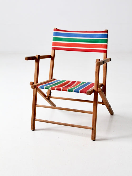 mid-century kid's folding chair