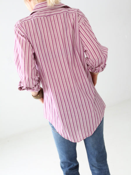 vintage 60s shirt with french cuffs