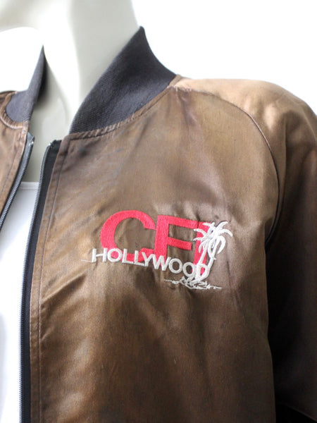 vintage CFI satin club jacket