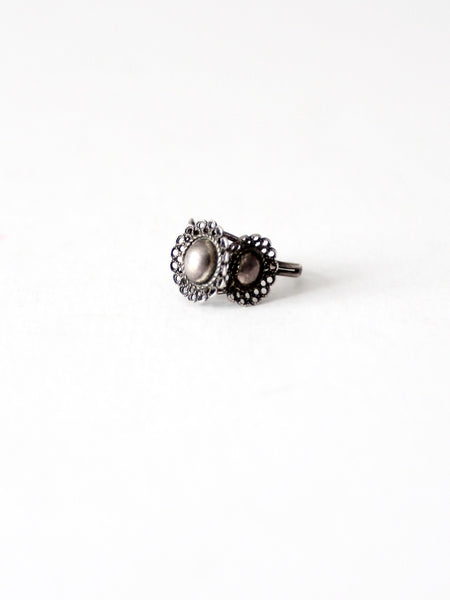vintage 70s filigree ring