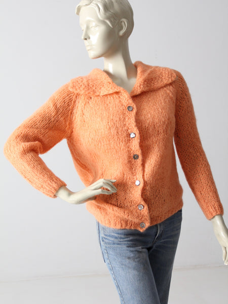 vintage 50s mohair cardigan