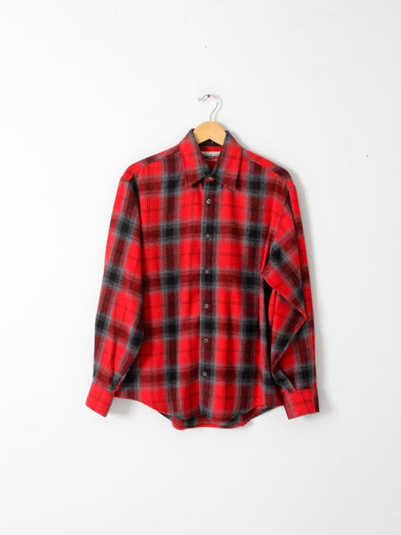 vintage L.L. Bean fleece shirt jac