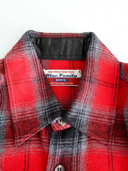 vintage plaid shirt