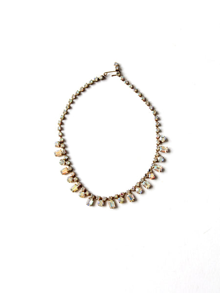 vintage 50s Goldette NY cameo necklace